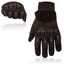 Tactical Shooting Gloves-Hard Knuckle Tactical Gloves For Riding Motorcycle Police Airsoft Swatt Assault Army Military combat gloves 1 Pair. Tactical Gear By Toncy Tactical
