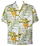Two Palms mens Small to 4X Napali Shirt in White - 3X