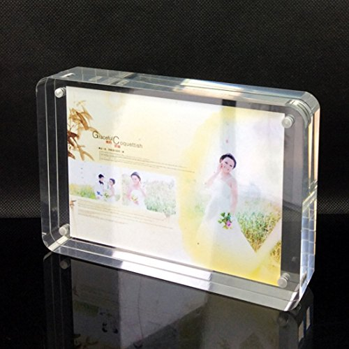 iNINJA(TM) 4 Round Edge Clear Acrylic Frames Photo Frame - Picture ...