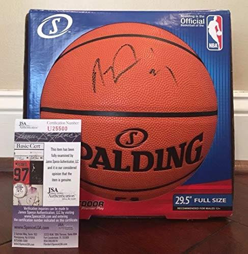 Anthony Davis Autographed Signed Memorabilia Official Nba Replica Basketball Pelicans JSA - Pelican Replica