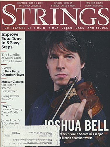 - Strings : Sheet Music- I Got You (I Feel Good) & Lover's Waltz; Articles- Resolving Tempo and Structure Problems in the Ravel Trio; Joshua Bell (2012 Journal)