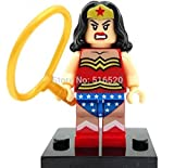 Wonder Woman Minifigures Marvel Super Heroes The Avengers Building Block Sets Model Bricks Toys For Children