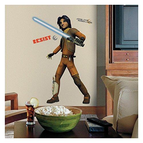 "RoomMates RMK2646TB Star Wars Rebels Ezra Peel and Stick Giant Wall Decals, 32.75"" x 49.5"""