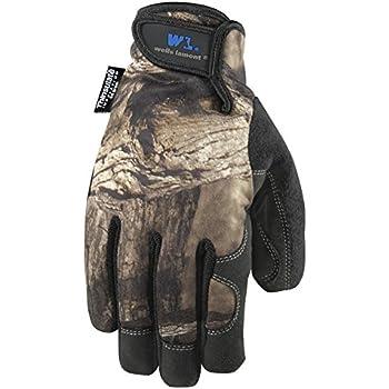 Men's Hi-Dexterity Camouflage Winter Work Gloves, 80-gram