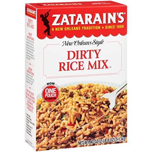 Zatarain's Dirty Rice Mix, 40 Ounce