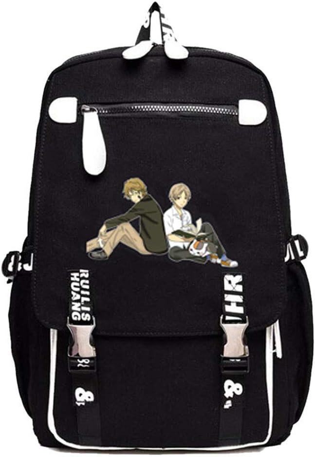 Gumstyle Natsume Yuujinchou Anime Cosplay Laptop Backpack Book Bag Rucksack Schoolbag for Students 15