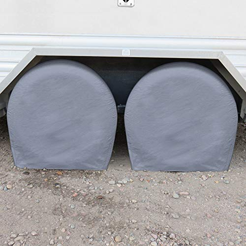 BDK Auto Armor Parked Vehicle RV Wheel & Tire Cover XL 28