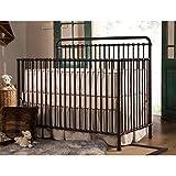 Million Dollar Baby Classic Winston 4-in-1 Convertible Iron Crib,  Vintage Iron