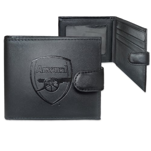 Official Arsenal FC Crest Embossed Leather Wallet
