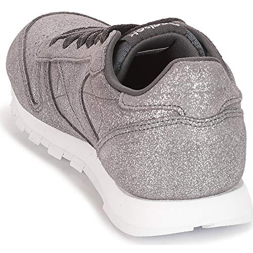 Classic w Reebok ash pewter Chaussures Fitness De Grey Multicolore ms 0 Femme Leather FPqdPxOA