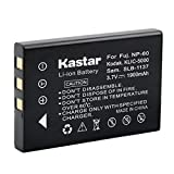 Kastar FNP-60 Battery for Hewlett Packard A1812A L1812A L1812B Q2232-80001 and HP PhotoSmart R07 R507 R607 R607xi R707 R707v R707xi R717 R725 R727 R817 R817v R818 R827 R837 R847 R926 R927 R937 R967