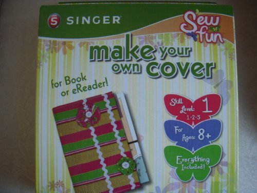 Sew Fun Make Your Own Book Cover by Singer