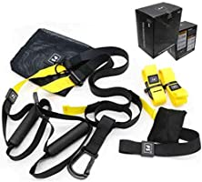 P3 PRO Fitness Exercise Resistance Bands Suspension Trainer Workout Crossfit Training Kits Portable
