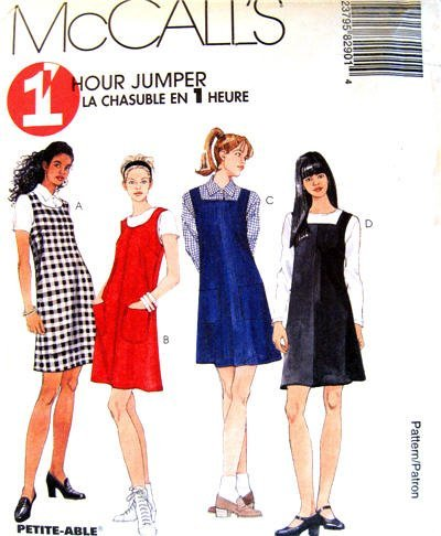 McCall's Sewing Pattern 8290 Misses' 1 Hour Jumper, Size B (8 10 ()