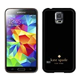 Samsung Galaxy S5 G9008V Kate Spade Black 010 screen phone case durable and newest design