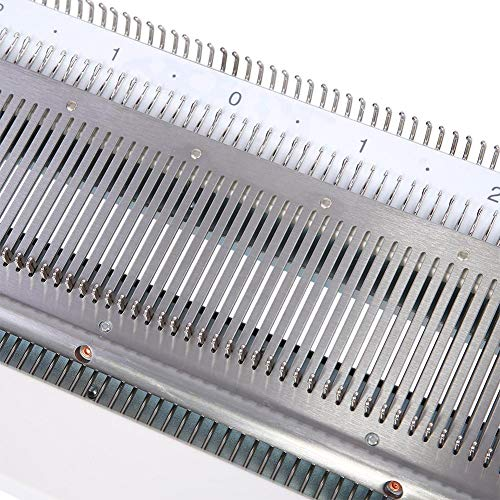Akozon Knitting Machine, Sweater Knitting Machine Artisan 245 Standard Gauge Plastic Domestic Knitting Machine for Silver Reed SK280 SK360 SK840 Includes Yarn Needles Accessories for Adults/Kids by Akozon (Image #6)