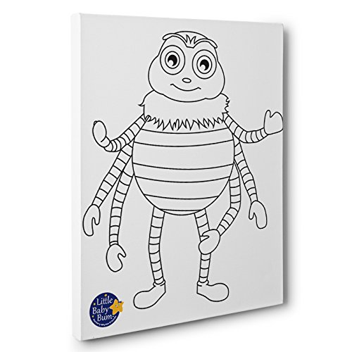 Little Baby Bum Incy Kids Room Coloring Canvas Decor