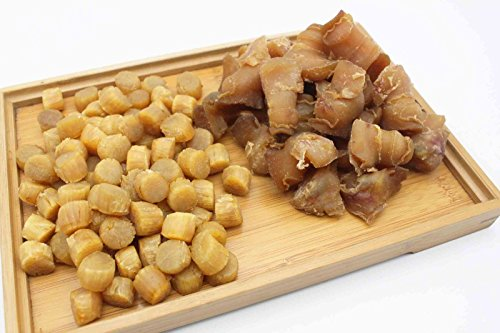 China Good Food Set-28 Dried Conch Head 螺頭 x Dried Medium Scallops Scallops 日本元貝 Free Airmail by China Good Food (Image #1)