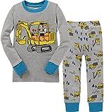 Baby Clothes Boy Truck Cotton Children Pajamas Set Christmas Cotton PJs Set