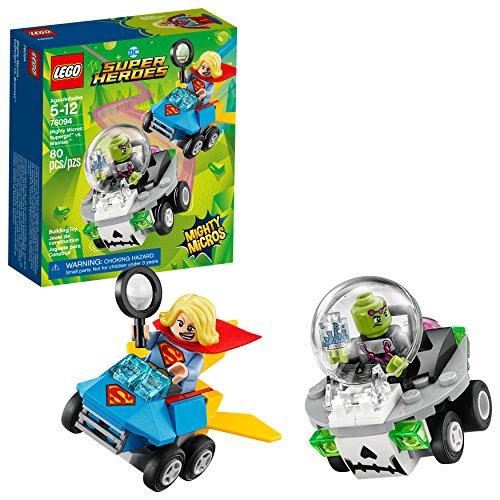 (LEGO DC Super Heroes Mighty Micros: Supergirl vs. Brainiac 76094 Building Kit (80 Piece))