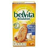 Belvita Breakfast Biscuits - Milk & Cereal (6x50g) - Pack of 2
