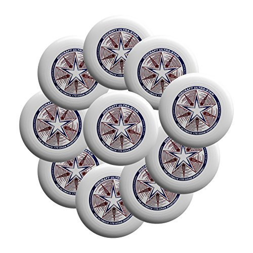 Discraft Ultra-Star 175g Ultimate Sportdisc White (10 Pack) by Discraft