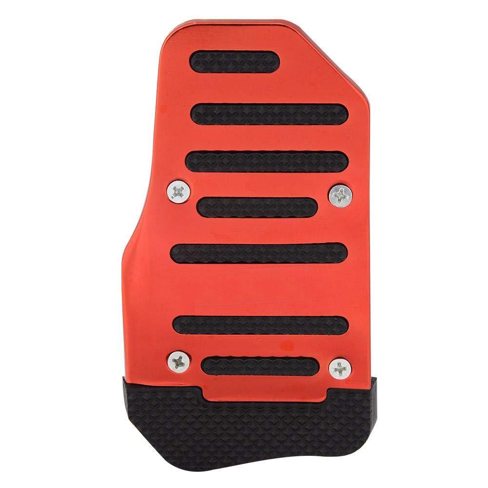 AT Automatikgetriebe Fahrzeugmodifikation Aluminiumlegierung Rutschfeste Pads f/ür Auto Bremspedal und Gaspedal KIMISS Universal Auto Bremspedal und Gaspedalabdeckungen Rot