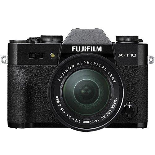 Fujifilm X-T10 Fotocamera Digitale con Obiettivo XC16-50 MM F3.5-5.6 OIS II, Nero product image