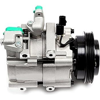 ECCPP A/C Compressor with clutch CO 10822C fit for 2003-2006 Kia Sorento