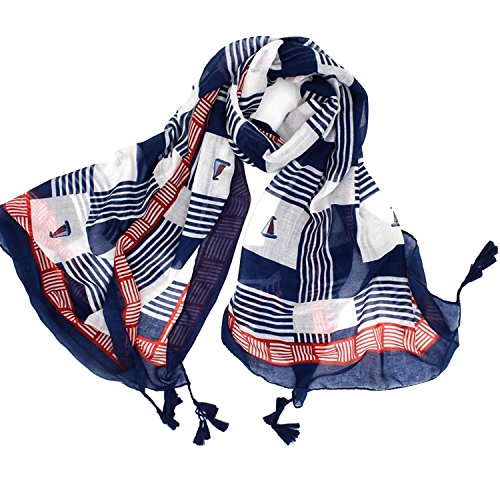 Womens Lightweight Silk Scarf, Large Pashmina Shawls and Wraps, Fall Winter Fashion Print Scarves