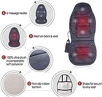 Amazon.com: SNAILAX Vibration Massage Seat Cushion with Heat ...
