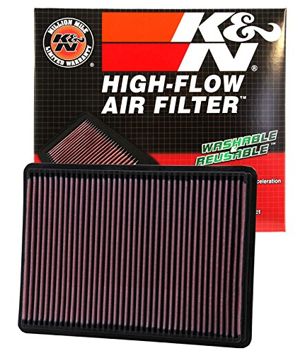 K&N 33-2233 High Performance Replacement Air Filter