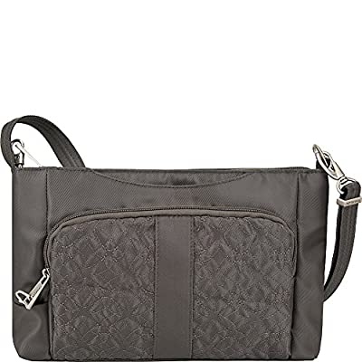 Travelon Anti-Theft Signature E/W Slim Shoulder Bag