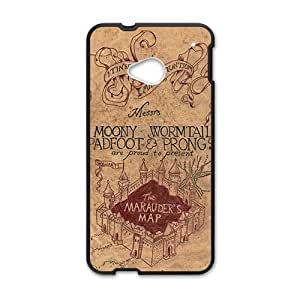 Harry Potter map Phone Case for HTC One M7