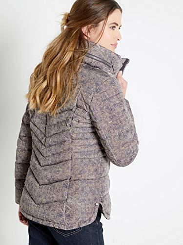 Taille Camel Imprime Femme Couleur Balsamik 48 Courte Doudoune BwqTxvta