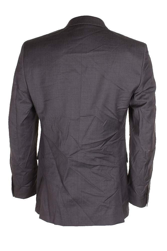 Bar III Mens Wool Slim Fit Two-Button Blazer Gray 38R