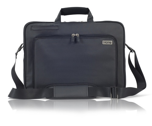 iHome Smart Brief: 15 inch Laptop Briefcase for Mac, Black ()