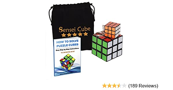 Amazon.com: MEGA SALE Sensei Cube - Best Selling Black ...