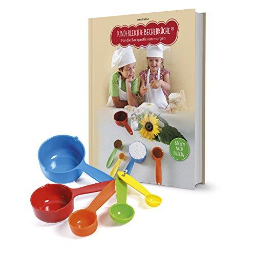 Kinderleichte Becherküche 03636 Backset 6-tlg. für Kinder inkl. Messbecher