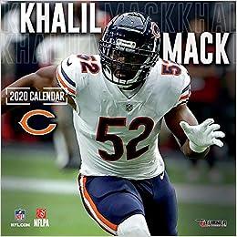Chicago Calendar 2020 Chicago Bears Khalil Mack 2020 Calendar: Inc. Lang Companies