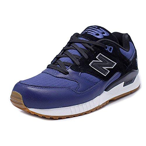 Nuovo Bilancia Da Uomo M530nob Navy / Nero