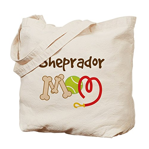 CafePress–Sheprador perro mamá–Gamuza de bolsa de lona bolsa, bolsa de la compra