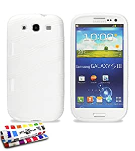 Muzzano F14488 - Funda para Samsung Galaxy S3, color blanco