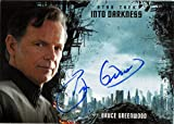 #1: Star Trek Beyond Into Darkness Autograph Card Bruce Greenwood as Admiral Pike