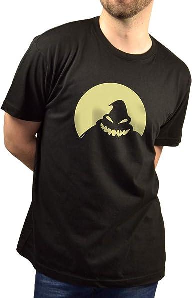 SUPERMOLON Camiseta Negra Unisex Oogie Boogie Modelo Long ...