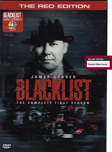 The Blacklist: The Complete First Season Red Edition (5 Discs) (Widescreen)