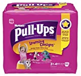 Health & Personal Care : Huggies Pull-Ups Learning Design Training Pants, Size 3T - 4T, Girl, 50 Count (Pack of 2)
