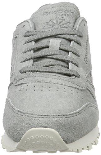 Classic Shimmer Reebok Greymatte flint Leather Gris Baskets Silverchalk Hqxd4wB