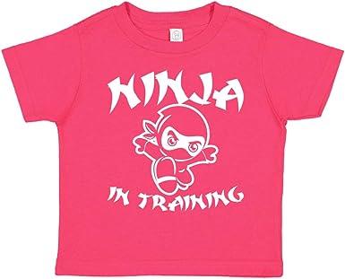 Ninja in Training Baby Bodysuit or Toddler T-Shirt Cute Martial Arts Clothing