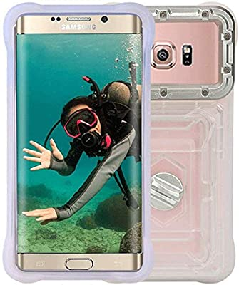 LNLW Diving Swimming Underwater Photography Dustproof Anti-Fall Transparent Buoyancy Waterproof Mobile Phone Bag 2 Pack